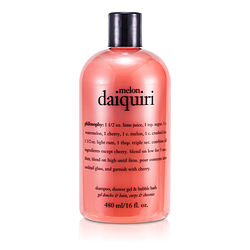Philosophy by Philosophy Melon Daiquiri 3 In 1 Shampoo, Shower Gel & Bubble Bath--/16OZ for WOMEN $ 16.00
