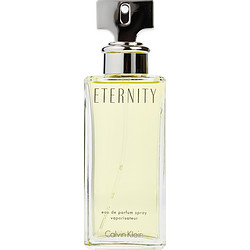ETERNITY by Calvin Klein EDP SPRAY 3.4 OZ (UNBOXED) for WOMEN