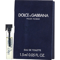 DOLCE & GABBANA by Dolce & Gabbana EDT VIAL ON CARD for MEN