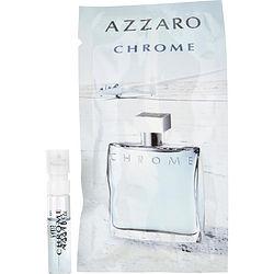 CHROME by Azzaro EDT SPRAY VIAL ON CARD for MEN