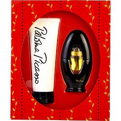 Paloma Picasso Eau de parfum spray 1.7 oz & body lotion 6.7 oz, women