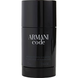 ARMANI CODE by Giorgio Armani ALCOHOL FREE DEODORANT STICK 2.6 OZ for MEN