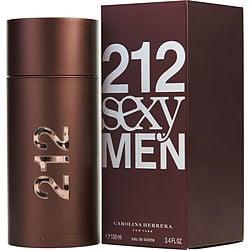 212 SEXY by Carolina Herrera EDT SPRAY 3.4 OZ for MEN