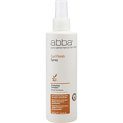 Abba By Abba Pure & Natural Hair Care Curl Finish Spray 8 Oz For Unisex