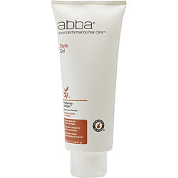 ABBA by ABBA Pure & Natural Hair Care STYLE GEL MEDIUM HOLD 6.76 OZ for UNISEX