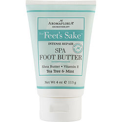 FOR FEET'S SAKE by Aromafloria - INTENSE REPAIR SPA FOOT BUTTER 4 OZ BLEND OF TEA TREE AND MINT