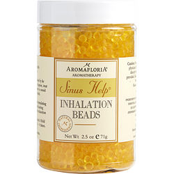 SINUS HELP by Aromafloria - INHALATION BEADS 2.5 OZ BLEND OF EUCALYPTUS, PEPPERMINT, LEMONGRASS