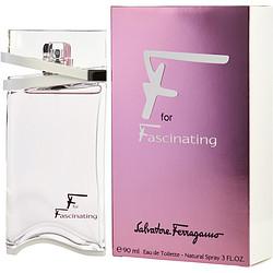 F For Fascinating By Salvatore Ferragamo Edt Spray 3 Oz For Women