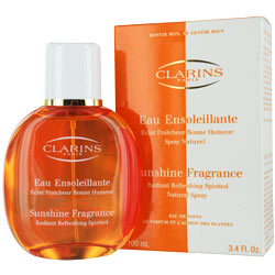 CLARINS EAU ENSOLEILLANTE SUNSHINE FRAGRANCE  EDT SPRAY 3.4 OZ for WOMEN