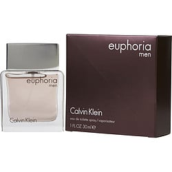 EUPHORIA MEN by Calvin Klein EDT SPRAY 1 OZ for MEN