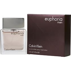 EUPHORIA MEN by Calvin Klein EDT SPRAY 1 OZ for MEN