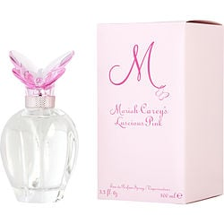 M BY MARIAH CAREY LUSCIOUS PINK by Mariah Carey - EAU DE PARFUM SPRAY 3.3 OZ