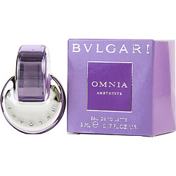 BVLGARI OMNIA AMETHYSTE by Bvlgari EDT .17 OZ MINI for WOMEN