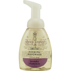 DEEP STEEP by Deep Steep LAVENDER-CHAMOMILE FOAMING HAND WASH 8 OZ for UNISEX
