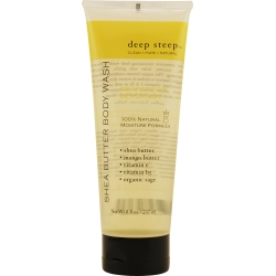 DEEP STEEP by Deep Steep - GRAPEFRUIT-BERGAMOT ORGANIC SHEA BUTTER BODY WASH 8 OZ