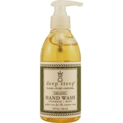 DEEP STEEP by Deep Steep ROSEMARY-MINT ORGANIC FOAMING HAND WASH 8 OZ for UNISEX