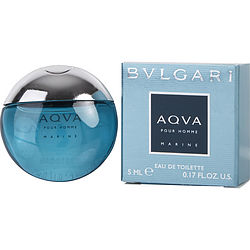 BVLGARI AQUA MARINE by Bvlgari EDT .17 OZ MINI for MEN