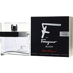 F BY FERRAGAMO POUR HOMME BLACK by Salvatore Ferragamo EDT SPRAY 3.4 OZ for MEN $ 44.19