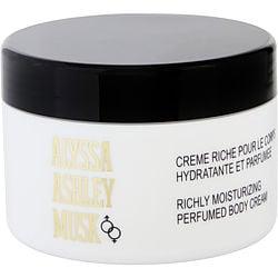 ALYSSA ASHLEY MUSK by Alyssa Ashley BODY CREAM 8.5 OZ for WOMEN