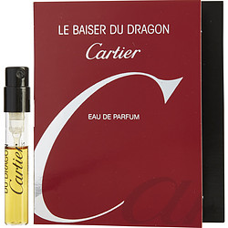 LE BAISER DU DRAGON by Cartier EDP SPRAY VIAL ON CARD for WOMEN