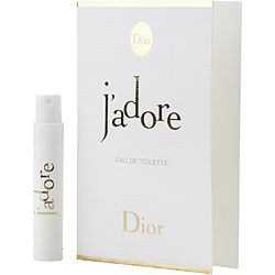 JADORE by Christian Dior EDT SPRAY VIAL ON CARD for WOMEN