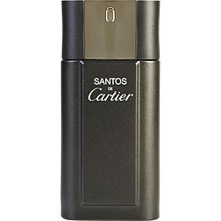 SANTOS DE CARTIER by Cartier EDT SPRAY 3.3 OZ *TESTER for MEN