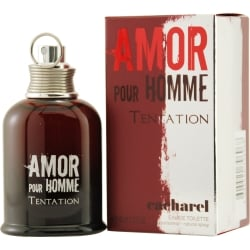 AMOR POUR HOMME TENTATION by Cacharel EDT SPRAY 1.3 OZ for MEN