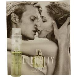 ETERNITY by Calvin Klein EDT SPRAY VIAL ON CARD for MEN