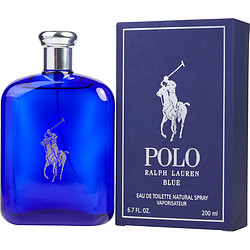 Polo Blue Polo Blue By Ralph Lauren Edt Spray 6.7 Oz Cologne For Men