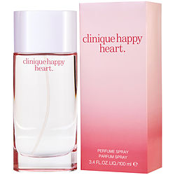 HAPPY HEART by Clinique PARFUM SPRAY 3.4 OZ (NEW PACKAGING) for WOMEN