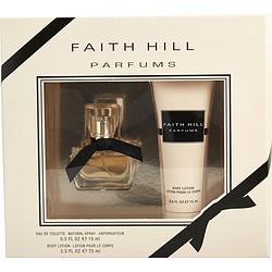 FAITH HILL by Faith Hill SET-EDT SPRAY .5 OZ & BODY LOTION 2.5 OZ for WOMEN