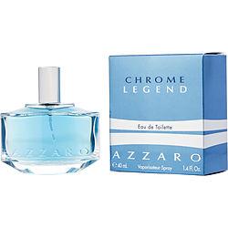 CHROME LEGEND by Azzaro EDT SPRAY 1.4 OZ for MEN