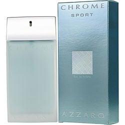 CHROME SPORT by Azzaro EDT SPRAY 3.4 OZ for MEN
