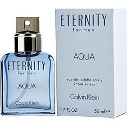 ETERNITY AQUA by Calvin Klein EDT SPRAY 1.7 OZ for MEN