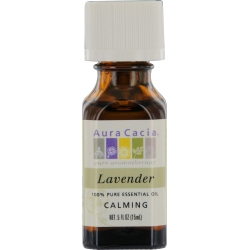 ESSENTIAL OILS AURA CACIA by Aura Cacia LAVENDER-ESSENTIAL OIL .5 OZ for UNISEX