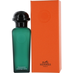HERMES D'ORANGE VERT CONCENTRE by Hermes EDT REFILLABLE SPRAY 1.6 OZ for UNISEX Launched by the design house of Hermes in 2004, HERMES D'ORANGE VERT CONCENTRE by Hermes for UNISEX posesses a blend of: Amber, Orange, Basil, Patchouli, Cedar It is recommended for wear.