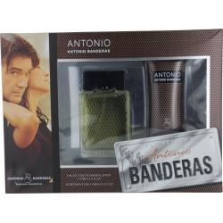 ANTONIO by Antonio Banderas SET-EDT SPRAY 3.4 OZ & AFTERSHAVE GEL 3.4 OZ