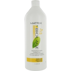 BIOLAGE by Matrix DEEP SMOOTHING CONDITIONER FOR SMOOTHES DRY AND UNRULY HAIR 33.8 OZ for UNISEX