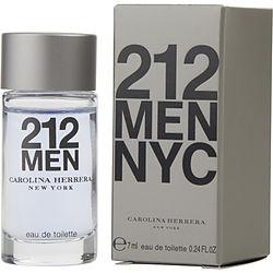 212 by Carolina Herrera EDT .24 OZ MINI for MEN
