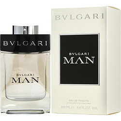 BVLGARI MAN by Bvlgari EDT SPRAY 3.4 OZ for MEN