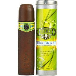 Cuba Brazil By Cuba Edt Spray 3.3 Oz For Men