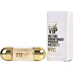 212 Vip By Carolina Herrera Eau De Parfum Spray 1 Oz For Women