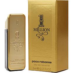 PACO RABANNE 1 MILLION by Paco Rabanne EDT .17 OZ MINI for MEN