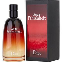 AQUA FAHRENHEIT by Christian Dior EDT SPRAY 4.2 OZ for MEN