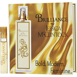 JESSICA MCCLINTOCK BRILLIANCE by Jessica McClintock EDP VIAL ON CARD for WOMEN
