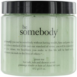 Philosophy by Philosophy Be Somebody Green Tea Hot Salt Tub and Shower Scrub --/23OZ for WOMEN $ 24.50