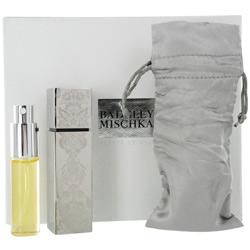 FLEURS DE NUIT by Badgley Mischka SET-PARFUM PURSE SPRAY .5 OZ & PARFUM REFILL SPRAY .5 OZ & SATIN POUCH for WOMEN
