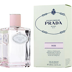 PRADA LES INFUSIONS DE ROSE by Prada EAU DE PARFUM SPRAY 3.4 OZ for WOMEN Launched by the design house of Prada in, PRADA LES INFUSIONS DE ROSE by Prada for WOMEN posesses a blend of: It is recommended for wear.