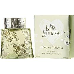 LOLITA LEMPICKA L'EAU AU MASCULIN by Lolita Lempicka EDT SPRAY 3.4 OZ for MEN