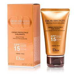 CHRISTIAN DIOR by Christian Dior Dior Bronze Beautifying Protective Suncare SPF 15 For Face --/1.7OZ for WOMEN $ 41.00
